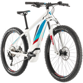 Cube Access Hybrid Pro 400 Dames, white'n'blue